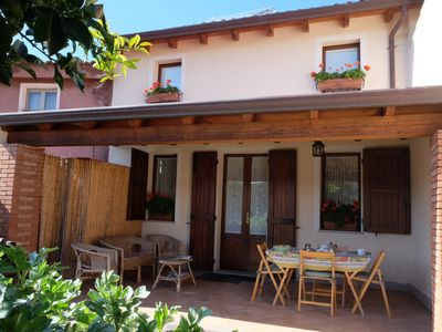 Photo for PRETTY INDEPENDENT TOWNHOUSE IN TEULADA