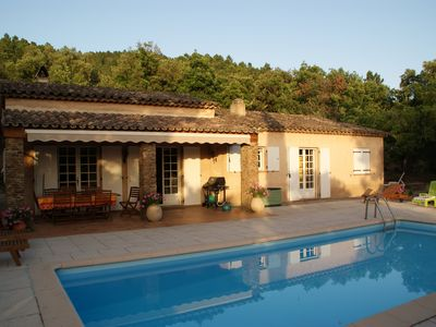 Photo for Nice 'provencal mas' in a one hectare garden in a private residence
