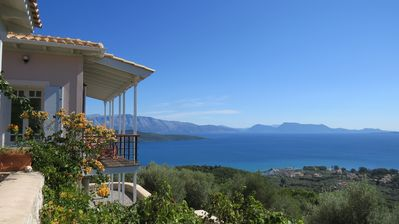 Photo for Exceptional retreat with pool and fantastic views of the sea and mountains