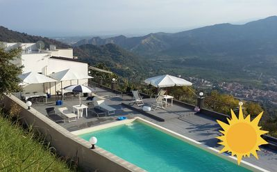 Photo for 2 HOLIDAY HOUSES BEAUTIFUL VIEW WITH POOL