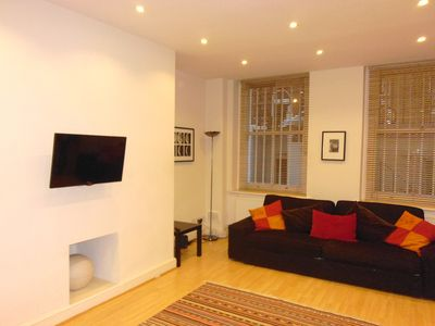 Photo for Spacious, eco-friendly studio apartment in a great location in Earl's Court.