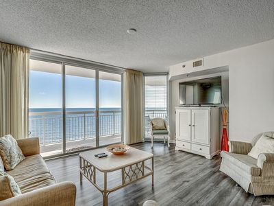 Photo for Awesome views from the balcony, one of our most popular condos! | Crescent Shores N. -  904