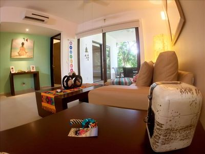 Photo for Modern Condo in Gated Resort, Yoga, Gym, Pools
