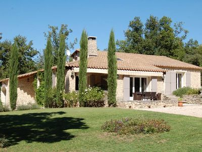 Photo for VIEW LUBERON, MENERBES, charming house with pool, quiet but not isolated