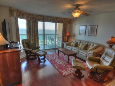Photo for Malibu Pointe - 1203 Enjoy fabulous views of the ocean from this penthouse condo!