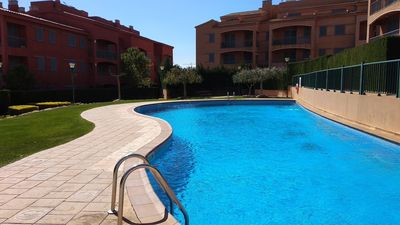 Photo for Welcoming Familial Apartment With Communal Pool Marina Sant Jordi (MSJ72)