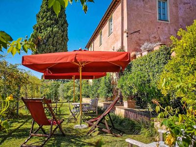 Photo for Crocetta 4 - Cozy apartment with pool. Lucca area. Free WIFI and private terrace