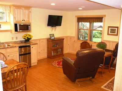 Photo for Loon's Nest - Private Lakeside Suite on Rangeley Lake