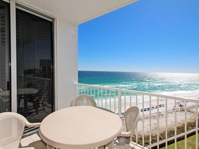 Photo for Penthouse ! Gulf Front - Shoreline Towers 2BR, 2BA Nice !! Top floor unit!