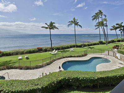 Photo for Maui Oceanfront Condo with Spectacular 180 Degree Ocean View!!