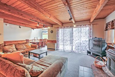Gather a group of up to 12 for a lovely stay at this vacation rental townhome.