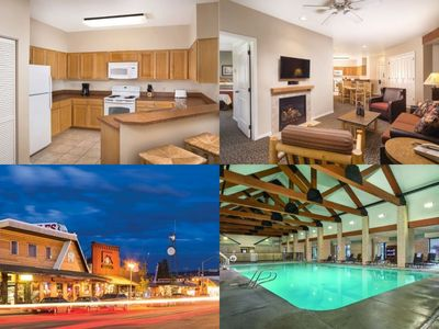 1 Mile from Park Entrance! RESORT 2 Bed/2 Bath Condo ~Pool~Hot Tub~Gym
