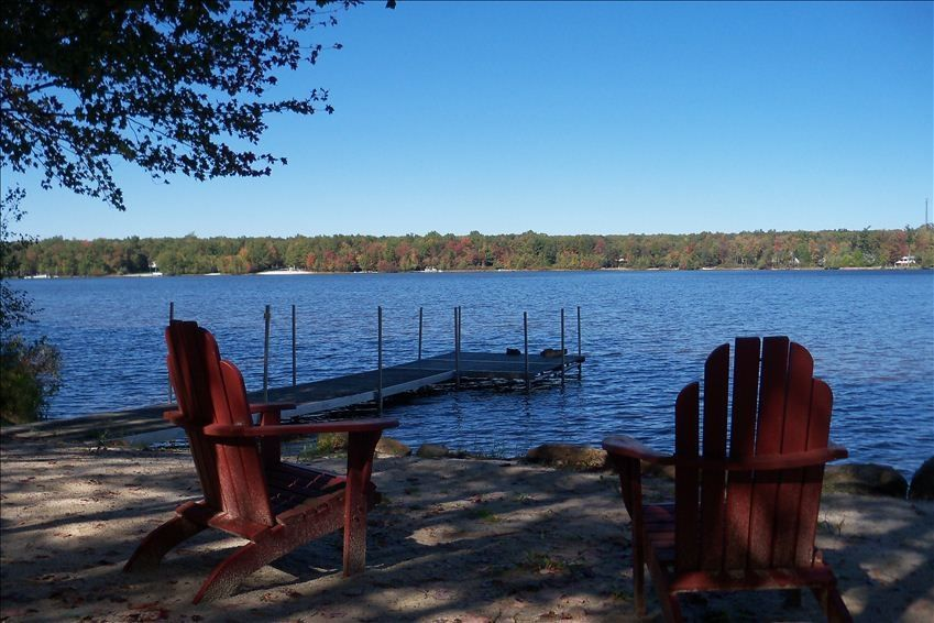 Beautiful Lakefront Home With Private Beach Vrbo
