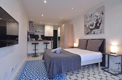 Photo for Beautiful studio design and modern in Biarritz - free parking.