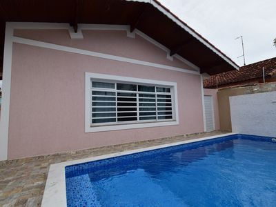 Photo for House with pool 200 meters from the beach, capacity for 15 people