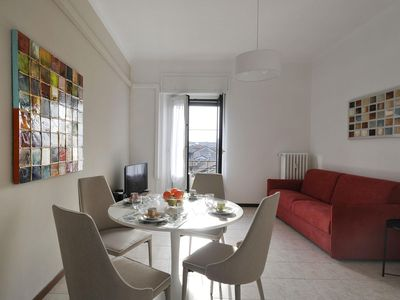 Photo for Marche E apartment in Porta Garibaldi with WiFi, integrated air conditioning, balcony & lift.