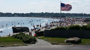 Black Point Fishing Area, Narragansett, Rhode Island, United States