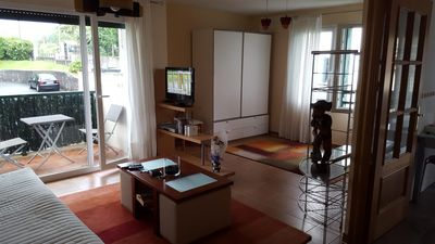 Photo for Nice and quiet apartment 15 minutes walk from the beach.