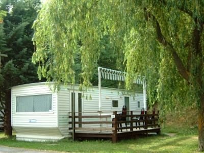 "Photo for Camping Enclave Mobil-Home ""IRIS"" 4pers"