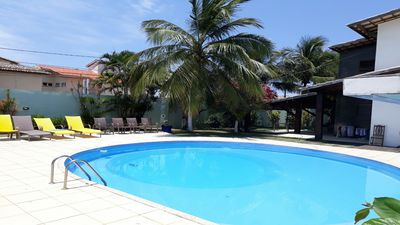 Photo for Manssao with 8 suites 200 meters from the beach