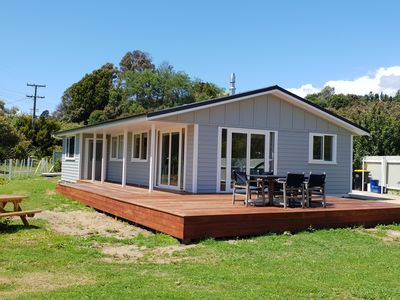 Photo for Great Kiwi Beach Holiday Home - Great Location Freshly Renovated