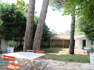 Photo for Beautiful house with large garden réthaise 150 mts from the beach, quiet.