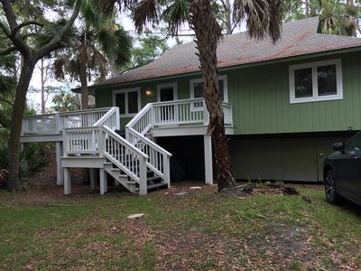 Photo for Spacious 3 bdrm 2 bath home w marsh views on Fripp! Golf Cart, amenity cards