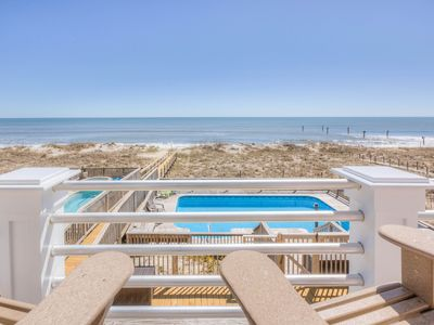 Photo for Amazing Oceanfront Beach House With Pool and Elevator