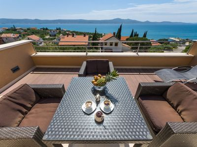 Photo for Luxury ROOFTOP 2+2 Sea View apt - Sv. Petar 4