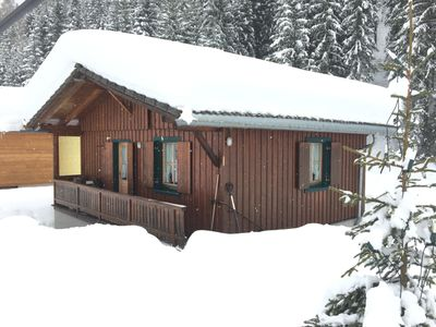 Photo for Vacation in a cozy wooden house in the Tyrolean mountains