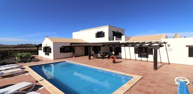 Photo for Charming large 4 bedroom villa with a private heated pool, WiFi and much more