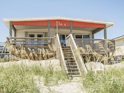 Photo for Chill'ax Inn: 3 Bed/2 Bath Oceanfront Home with Covered Porch