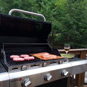 Grill on the deck for grilling and chilling!