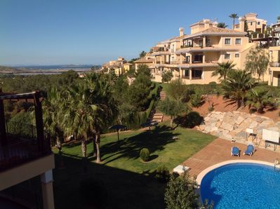 View from the terrace over the Mar Menor