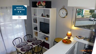 Photo for Studio cabin Arcachon center-parking-2 bicycles rested beach-quiet-wifi Middle Street