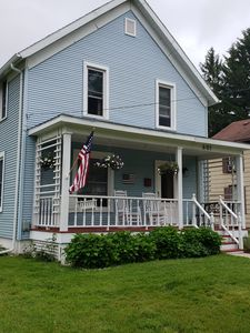 Photo for Elm St Charmer- Great for groups, walk to Journeyman/downtown Three Oaks
