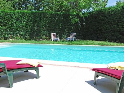 Photo for House in Gordes with Internet, Pool, Terrace, Washing machine (103103)