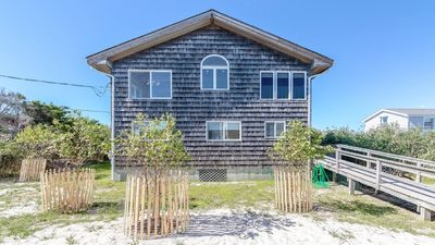 Photo for Fire Island (Atlantique) Beach House Less than a 3 Min. Walk to Ferry and Beach