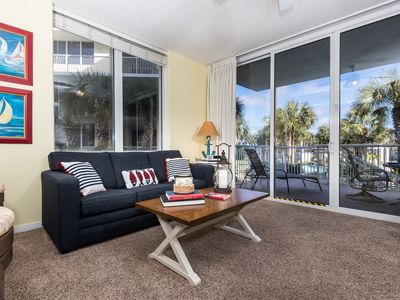 Photo for Great Fall Rates!Lovely Corner Condo!  Lazy River, Pools, Free Bch Service,WiFi