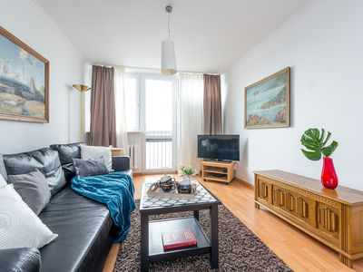 Photo for Two Bedroom Apartment GRZYBOWSKA 2