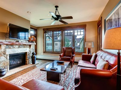 Photo for Luxury condo in private setting, just a min walk into the heart of Breck