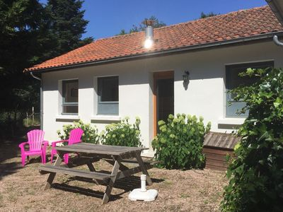 Photo for Nice holiday cottage in small-scale holiday village with swimming pool