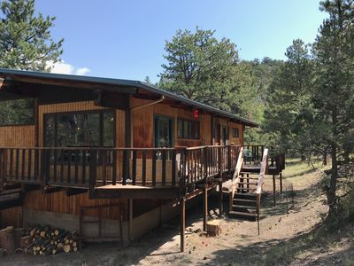 Photo for Wapiti Getaway near Mount Princeton Hot Springs, Nathrop, With private hot tub