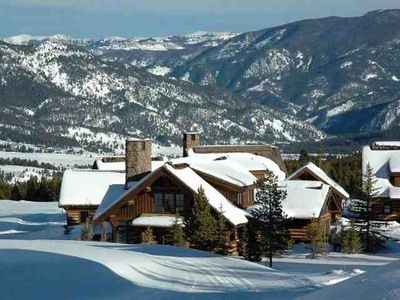 Photo for Ski in/Ski out Luxury Golf Course Home Close to Yellowstone Club w/4x4 SUV Incl.