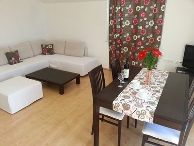 Photo for A3-Relax apartment with seaview and two balkonies