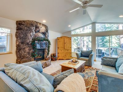 Photo for Upgraded family-friendly alpine retreat close to golf, skiing, and lakeside fun