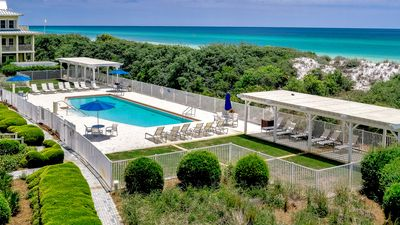 Photo for Watercolor Luxury Beachfront  Condo!  Private pool on the beach!