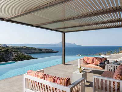 Photo for Villa Searock - Seafront 5 bedroom villa with a HEATED POOL