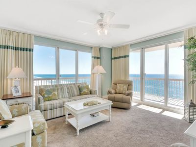 Photo for Wonderful Gulf View from 3 Bedroom Unit 1101!