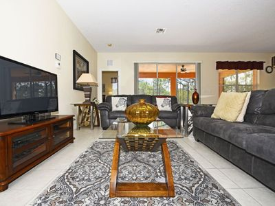 Photo for LUXURIOUS 5BDR WATERSONG VILLA w/Pool/Expansive Lanai & Game Room with Resort Amenites
